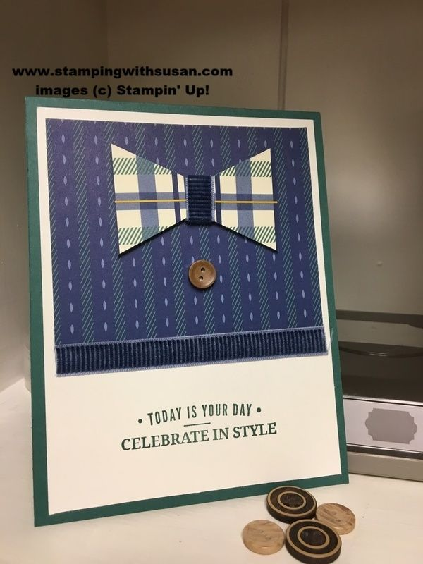 Stampin Up A True Gentlemans Shirt Masculine Birthday Cards For Men
