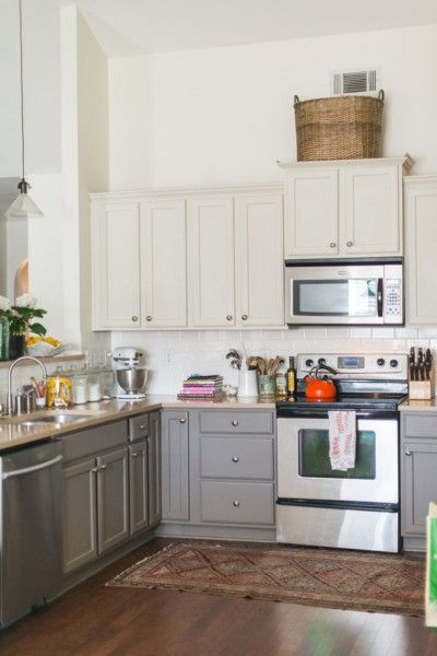 17 Best Ideas About Two Toned Cabinets On Pinterest Two