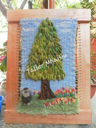 Trabajo lorena Taller Mhaisiu decoraciones