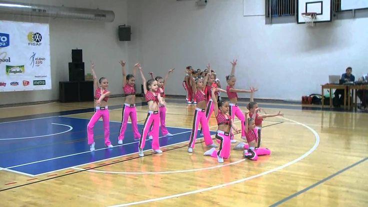 Aerobic Junior Club I.Mrňákové - Čokoláda, Praha 19.2.11.wmv
