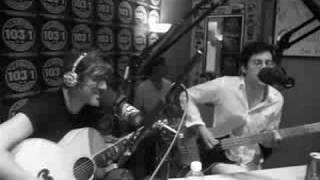 "We Are Scientists on Indie 103.1 FM - ""After Hours"", via YouTube."