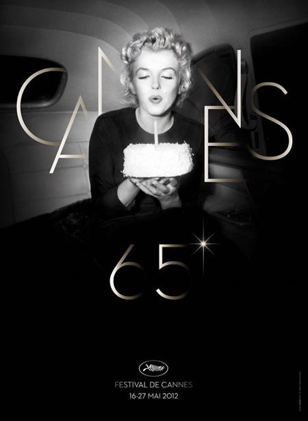 Cannes 65 Poster Celebrates Marilyn Monroe