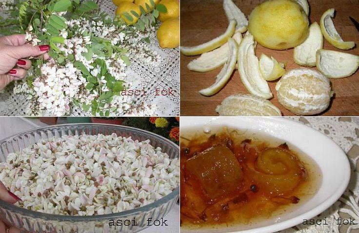 Akasyalı Limon Reçeli ya da Limonlu Akasya Reçeli                        -  Nurdan Çakır Tezgin #yemekmutfak
