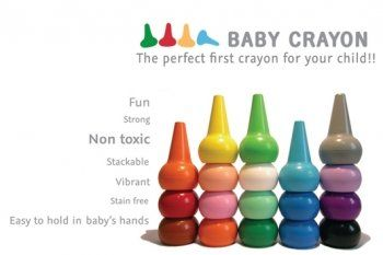 Studio Skinky 12 Stackable Playon Crayons - Primaries:Amazon:Toys & Games