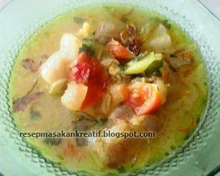 Resep Sop Kikil (Kaki Sapi) | Resep Masakan Indonesia (Indonesian Food Recipes)