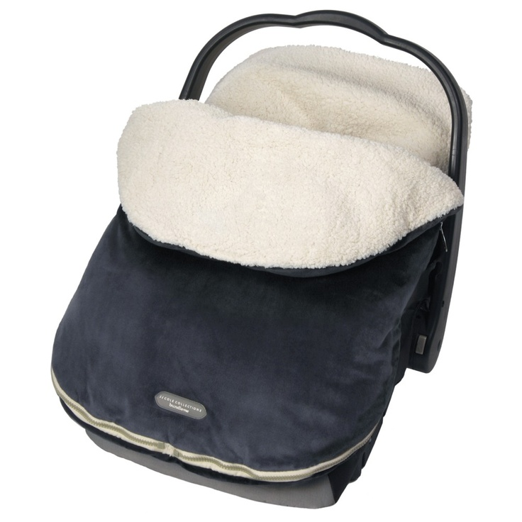 jj cole-this isn't exactly the one she would like its: urban bundle me infant winter car seat cover colour: stealth (black)