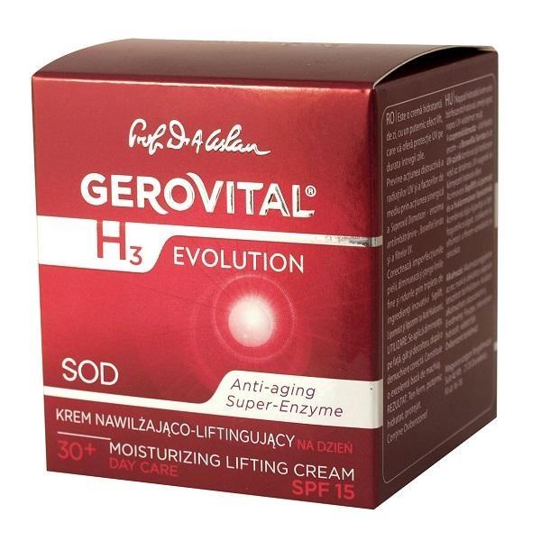 Crema Lift Hidratanta de Zi, cu FP15, Gerovital GH3 Evolution - http://www.carlisa.ro/274~Produse-Cosmetice-Anti-Rid/284~Creme-de-fata-Antirid/1522-Crema-Lift-Hidratanta-de-Zi--cu-FP15--Gerovital-GH3-Evolution.html