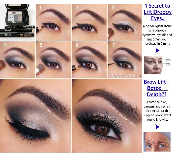 80 best Makeup for droopy eyelids images on Pinterest ...