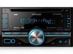 Kenwood DPX-406DAB - Bilradiospesialisten - 2-DIN CD-radio