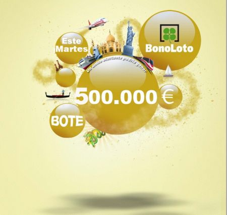 Bonoloto, Bote, 500.000€, Martes 12/11/2013