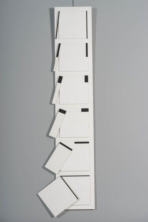 Matti Kujasalo: Reliefi, 1986, 113x21 cm - Huutokauppa Helander 09/2015