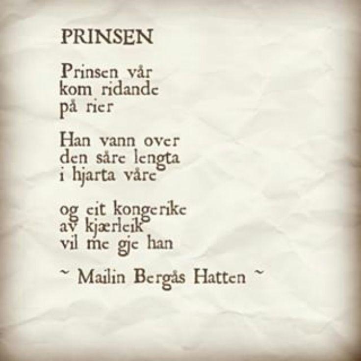 ~Prinsen~ Mailin Bergås Hatten.