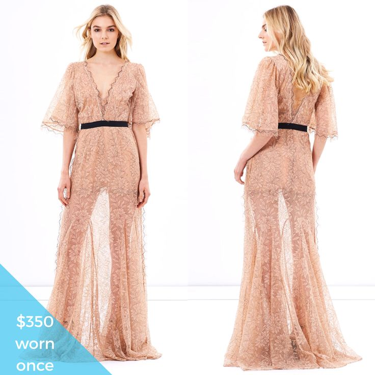 Alice McCall - Look good feel good gown