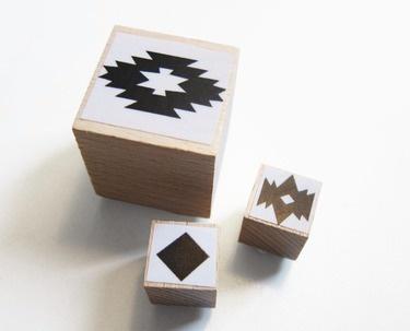 Navajo Muster Stempel-Set von enna