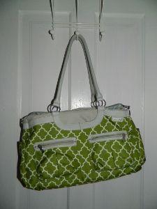 Win a new JJ Cole Satchel bag!  Goes through Monday, April 9.