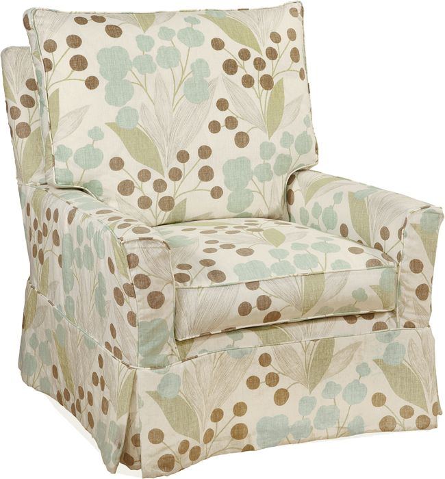 Four Seasons   Kylee Collection XL AC15XLG Swivel Glider Fabric Shown:  Capparis Spa Available As