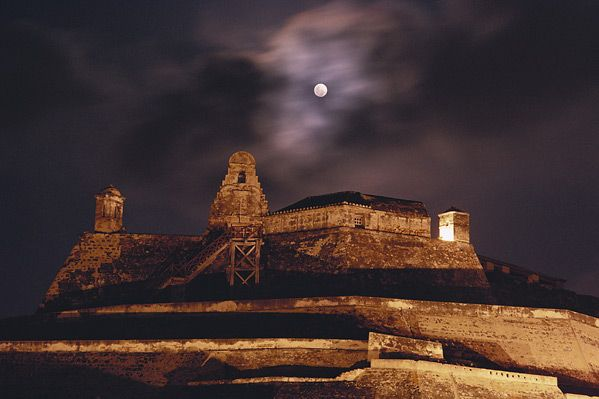 Castillo de San Felipe de Barajas, Cartagena de Indias, Colombia!