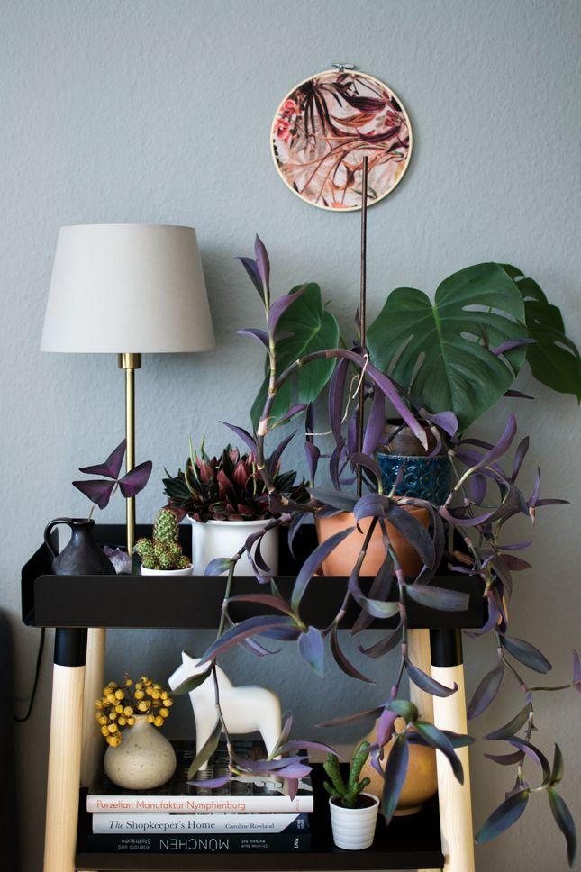 Urban Jungle Bloggers: Plant Shelfie II · Happy Interior Blog #flatlay #flatlays #flatlayapp www.flat-lay.com