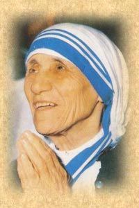 """""""By blood, I am Albanian. By citizenship, an Indian. By faith, I am a Catholic nun. As to my calling, I belong to the world. As to my heart, I belong entirely to the Heart of Jesus. """""""