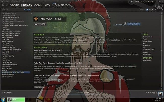 You Better Pre-Load Total War: Rome II Because Its 35GB