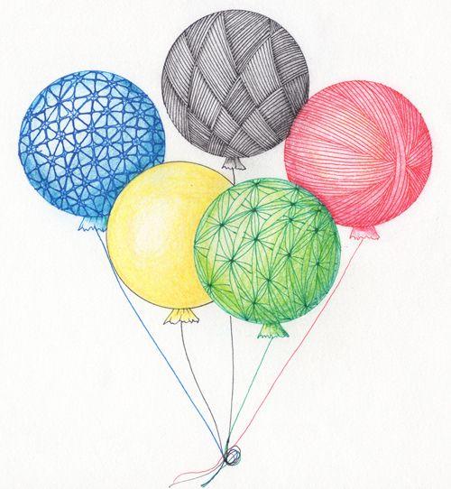 challenge 79 balloons by papernstuff, via Flickr