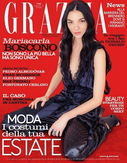#GraziaItaly magazine is an Italian weekly womens fashion and celebrity gossip magazine covering new fashion trends and beauty tips.