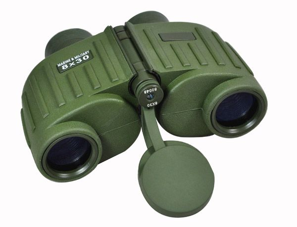 Military-standard quality, large eyepieces, clearer images and wider field of view  Rubber coating for secure grip and handling  Durable, shock-resistant and waterproof design to withstand tough outdoor use  Military ranging reticle installed  Long eye relief to ensure comfortable observation  Suitable for various fields: military, public security, navigation, aviation, and outdoor recreation  In conformity with the standard of USA army (MIL-STD-810) Magnification: