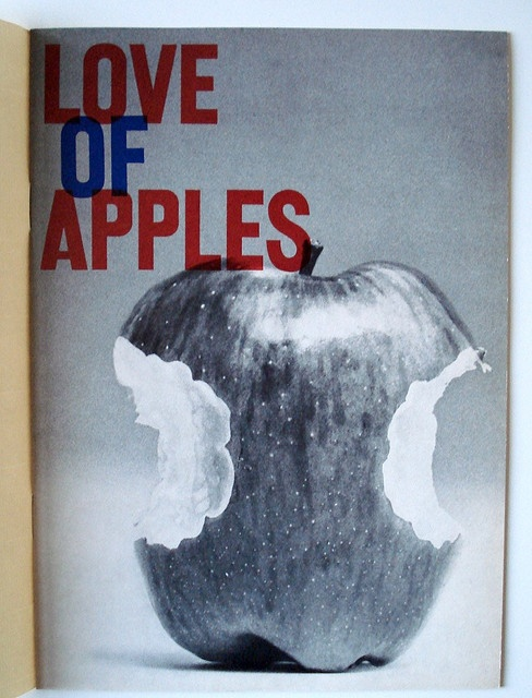 """Love of Apples"" cover by Gene Federico, 1960"