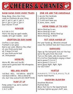 Best 25 Cheerleading Chants Ideas Only On Pinterest