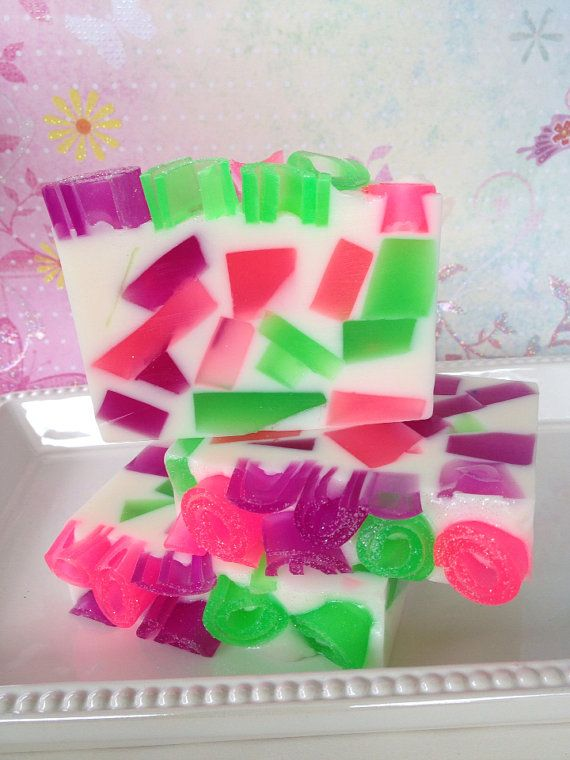 Sugar Plum Fairy  handcrafted glycerin by SeasideSoapKitchen, $6.00