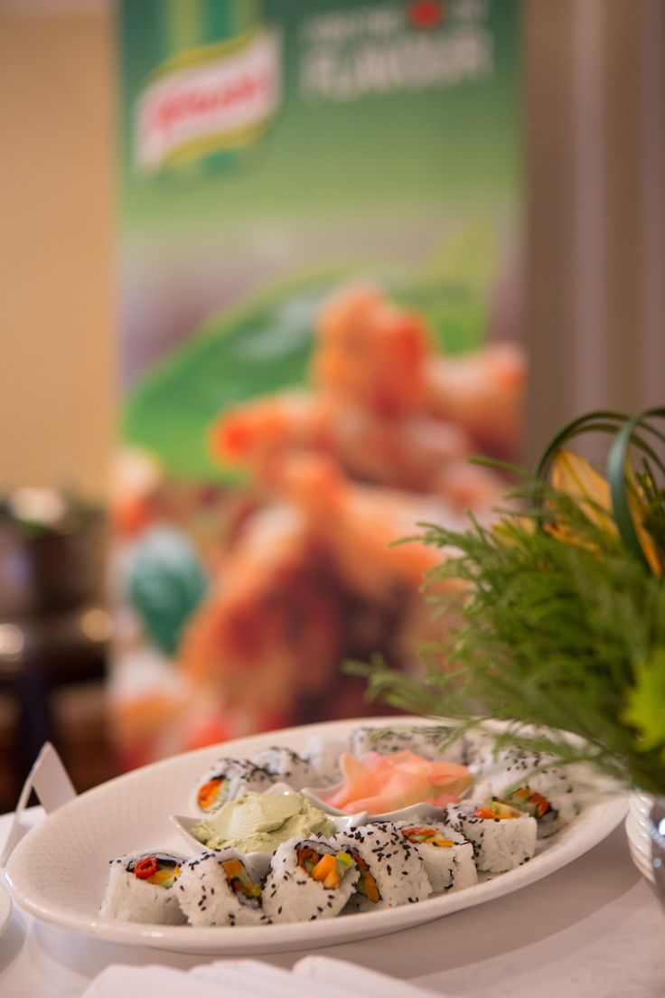 Winners were greeted with beautiful canapes at the Taj Hotel