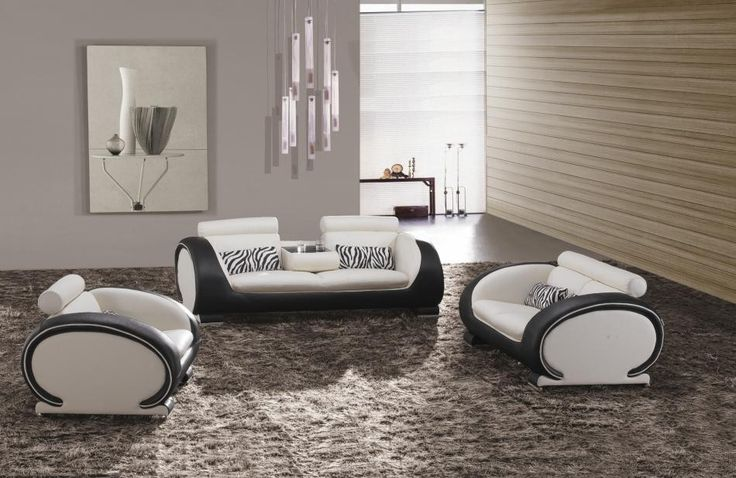 816 modern black and white leather sectional sofa deco convertible reviews best 25+ sofas ideas on pinterest | ...