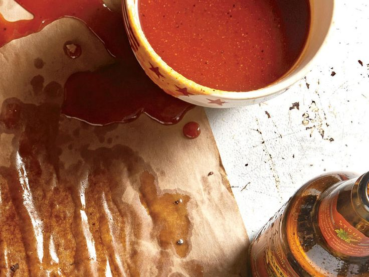 Turn up the Texas on this sweet and spicy barbecue sauce by stirring in 1/4 cup of reserved brisket drippings just before serving.