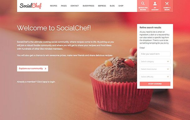 SocialChef-WordPress-Theme