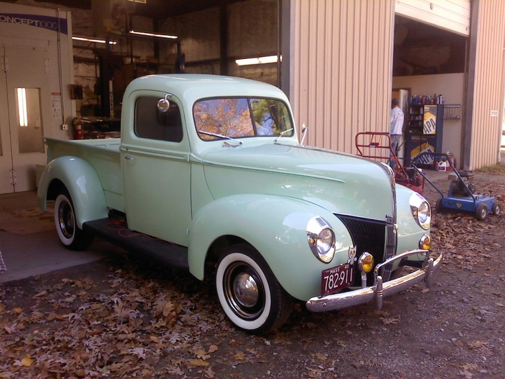 1940 ford pickup build thread page 3 the garage for Garage ford denney 90