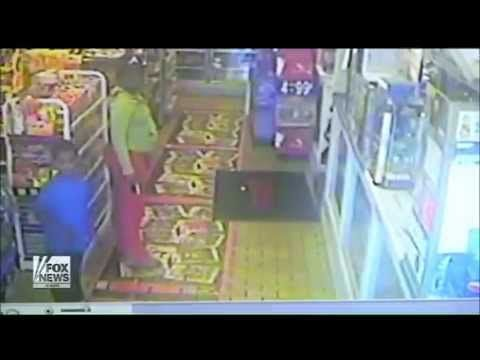 Surveillance Video And The Picture They Didn't Show You: Michael Brown Goes Gangsta'  August 15, 2014