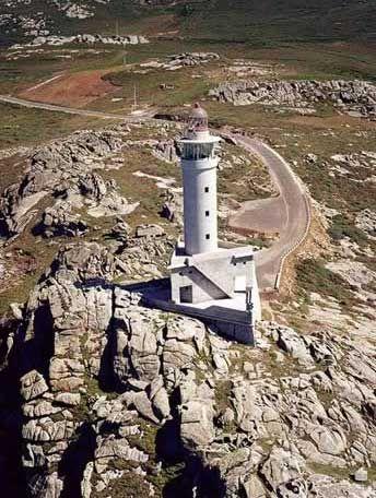Faro de Punta Nariga / Galicia / Spain http://SFBayHomes.com and http://WoodsideRealEstate.com