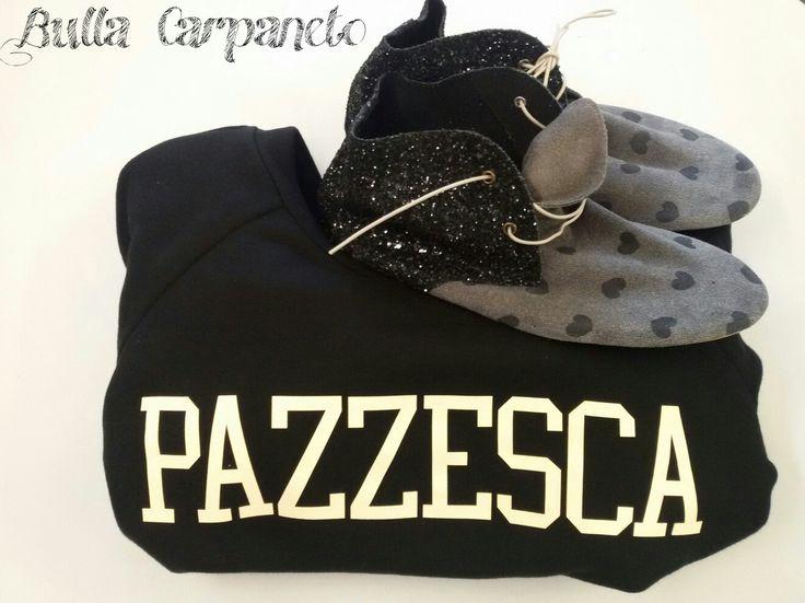 #aniyeby #felpa #pazzesca #anniel #shoes #sparkle #shoponline #sullacarpaneto