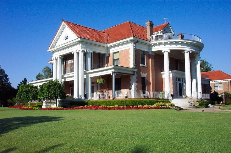 OldHouses.com - 1908 Neoclassical - The Frank Phillips Home in Bartlesville, Oklahoma