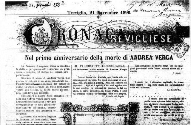 Treviglio 21 Novembre 1896