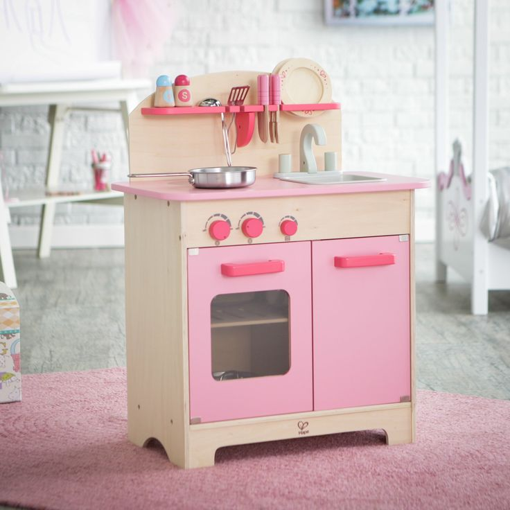 play kitchen accessories to it hape pink gourmet play kitchen with 1547
