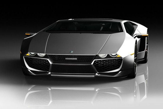 Italian sports car: De Tomaso Mangusta 2.0 – Design Study