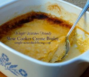 Two-Hour Slow Cooker Creme Brulee