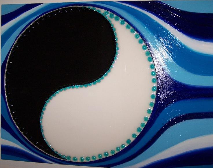 FLUSSI DI ENERGIE - 81 x 61 cm, legno, resina, vetro, acrilico (wood, resin, glass, acrylic), 2009.