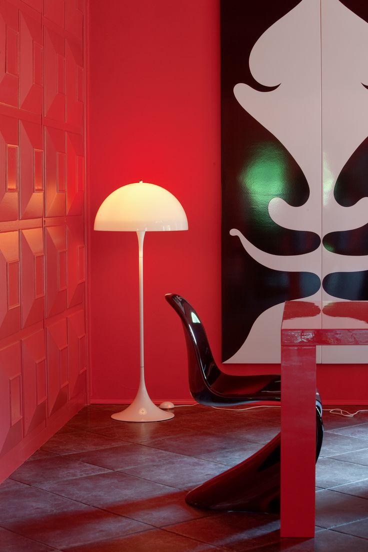 PantonHouse — Hamburg, Germany. Photographer: Paul Kozlowski. Product: Panthella Table