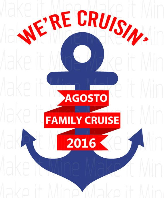 Personalized Family Cruise Iron On Transfer T-shirt by CELEBRATees                                                                                                                                                     More