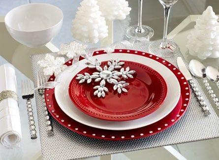 Yemek masalarına yılbaşı geldi : )