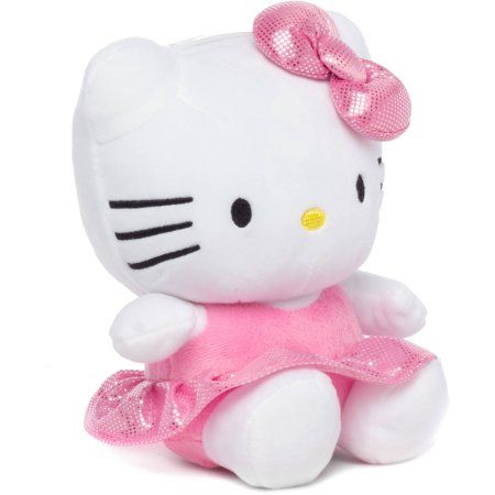 Hello Kitty Plush Piggy Bank