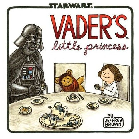 """Darth Vader Is The #1 Dad In The Galaxy In """"Vader's Little Princess"""""""