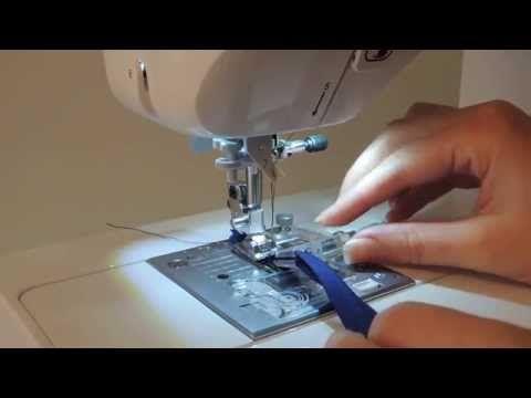 Prensatelas para coser bies - YouTube